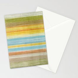 Colorbands Yellowstone Yellow Stationery Cards