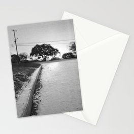 Sun Rise Over Light Snow Stationery Cards