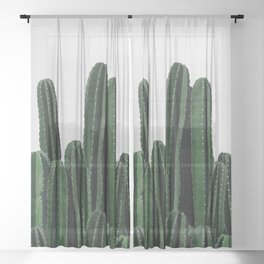 Cactus I Sheer Curtain