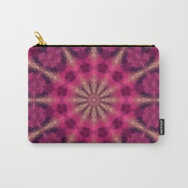 Kaleidoscope . Raspberry magic. Carry-All Pouch