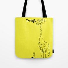 High Giraffe Tote Bag