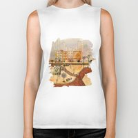 brooklyn Biker Tanks featuring Brooklyn by Katy Davis