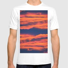 Endless sky MEDIUM Mens Fitted Tee White
