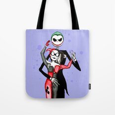 Nightmare Before Mad Love Tote Bag
