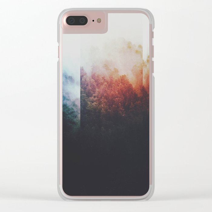 Fractions A75 Clear iPhone Case