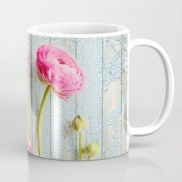 pink ranunculus Coffee Mug
