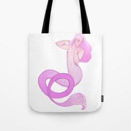 Genderfliud merperson Tote Bag