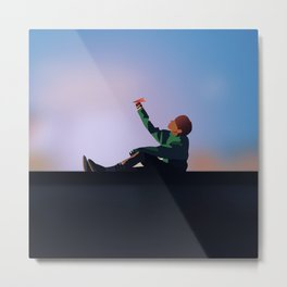 Spring Day - J-hope (Hoseok) BTS Metal Print