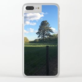walk in the park Clear iPhone Case
