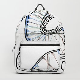 From Simplicity 2 Complexity series - Mitochondria Connections Backpack