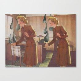 trickling down Canvas Print