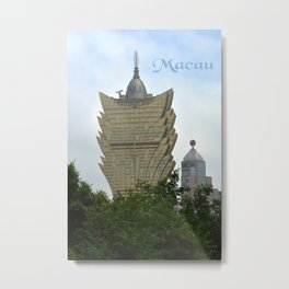 Macau Metal Print