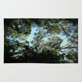 Above The Tree Canopy Rug