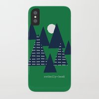 camping iPhone & iPod Cases featuring Camping by pegeo