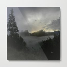 Misting fog..... Metal Print