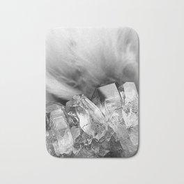 Crystal Cluster Monochrome Bath Mat