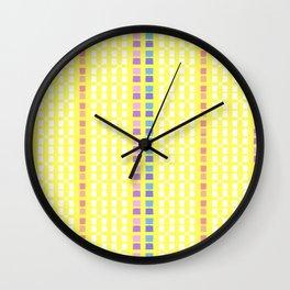 Lemon Mosaic Wall Clock