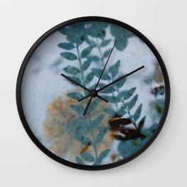 REFLECTIONS #1 #art #society6 Wall Clock
