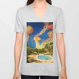 You can stand under my umbrella Unisex V-Neck