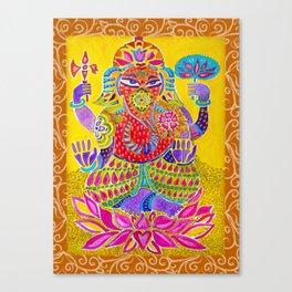 Shri Ganesh  Canvas Print