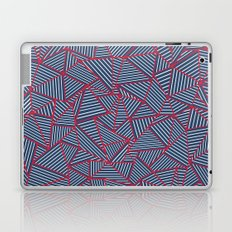 Ab Out Navy Red Laptop & iPad Skin