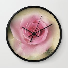 Go Lovely Rose Wall Clock