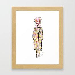 Love Runway Girl Framed Art Print