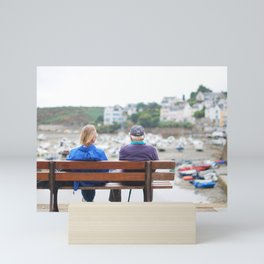 15. Fall in old love, Bretagne, France Mini Art Print