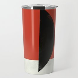 Geometric Abstract Art #6 Travel Mug