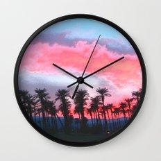Coachella Sunset Wall Clock