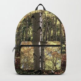 The Red Fern Grows In The Aspen Groves By Olena Art Backpack