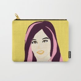 Knock Knock! Sana Yellow Carry-All Pouch