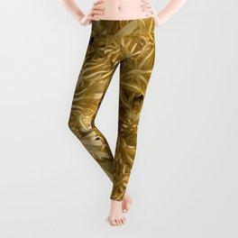 Grasping (in gold) Leggings
