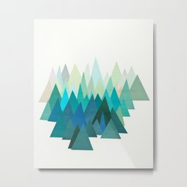 Cold Mountain Metal Print