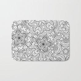 Mandalas pattern Bath Mat