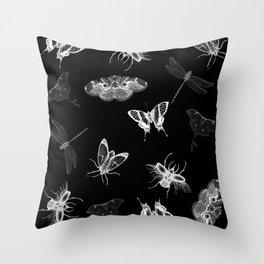 Entomologist Nightmares Throw Pillow
