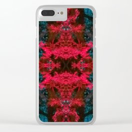 iDeal - Trippy Trees 02 Clear iPhone Case