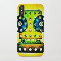dj iPhone & iPod Cases featuring DJ by Yukska
