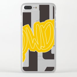 Ronda Rousey Rowdy Clear iPhone Case