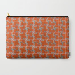 Wall Pattern Carry-All Pouch
