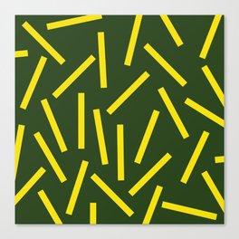Fries Canvas Print