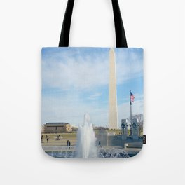 washington monument photography art Tote Bag