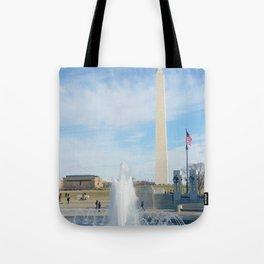 washington monument photography art Tote Bag