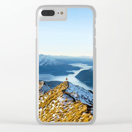 Dancing Peaks Clear iPhone Case