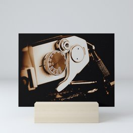 Old School Photography Mini Art Print