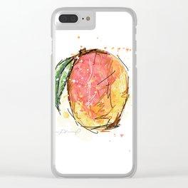 Mango Clear iPhone Case