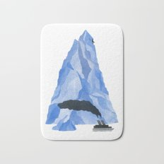 The Living Iceberg Bath Mat