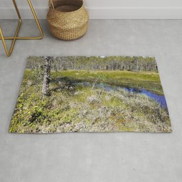 Marshes From Fairytales  Rug