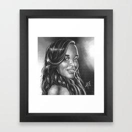 Keke Framed Art Print