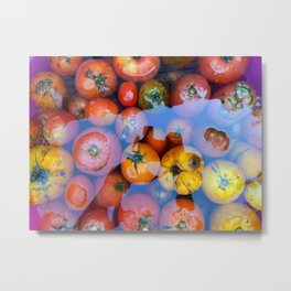 Berries, fruits and vegetables still life Metal Print